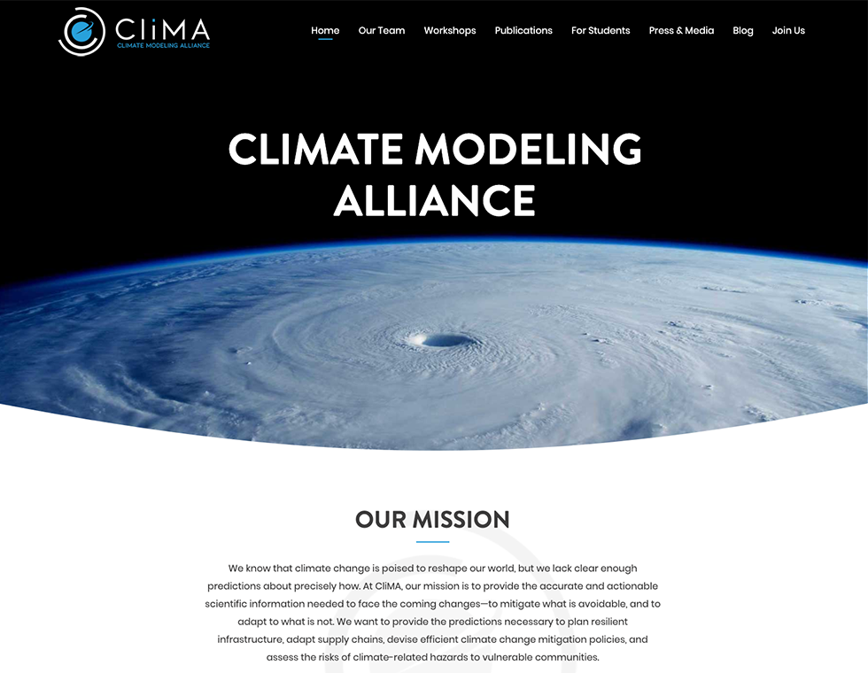 Climate Modeling Alliance Cal Tech